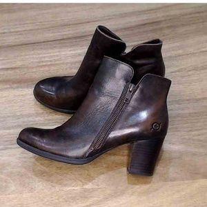 Born Soft Leather Heeled Boots